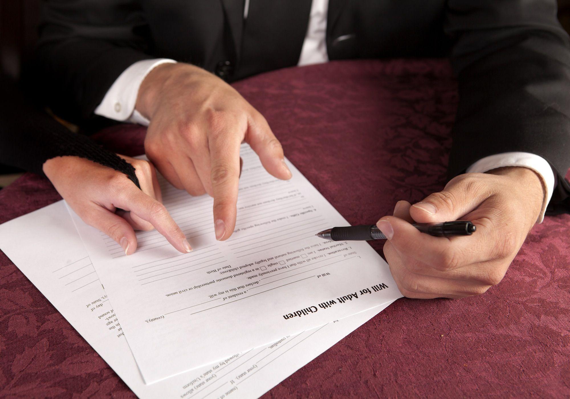 надлежащее судебные решения наследование по завещанию еще задумался